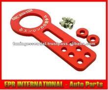 6061 Aluminium Red Car EPR Front Tow Hook 10mm Suzuki Nissan