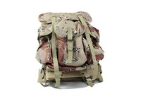 Army simple canvas custom tactical desert camouflage military backpack