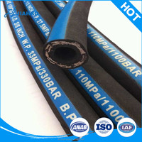 China Manufacture high pressure steam rubber hose / heat resistant rubber hose/ hydraulic hose fiber rubber hose flexible hose