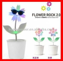 sound-activated music dancing flower---- voice box
