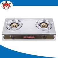 2 burner good market table top gas bbq grill stove