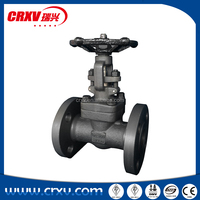 Api 602 industrial forged steel integral flange gate valves 150LB 300LB 600LB 1500LB