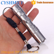 CYSHMILY Brightness Cheap Auminum Portable AA Battery Mini Led Keychain New Rechargeable Torch