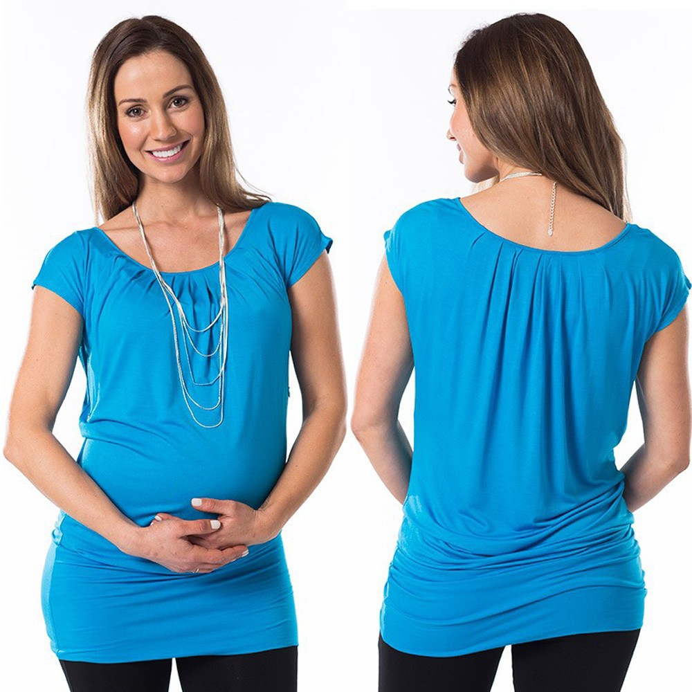 casual summer maternity clothing,cap sleeve clothes best maternity wear