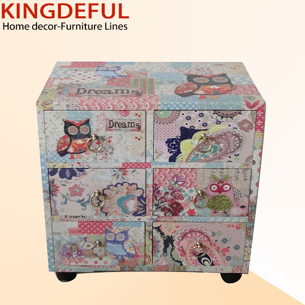 Colorful Cartoon Design Lovely Wooden Children Furniture
