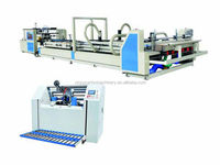 Crash lock bottom folder gluer with pre-folder / carton machine with folder gluer