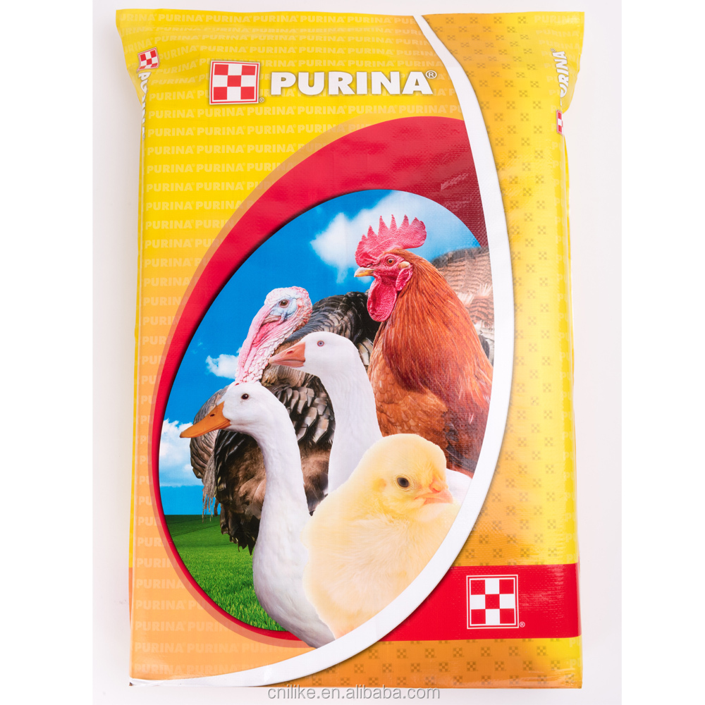 High quality feed packaging/bags for animal feed/ chicken feed bag