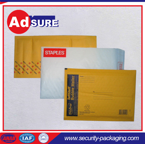 Courier Bubble Mailer/Poly Bubble Envelope/Self-sealing Kraft Paper Bubble Courier Bag