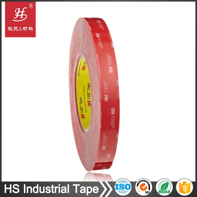 ROHS SGS certificates non-toxic tissue polyester foam VHB thermal conductive transfer double side adhesive tape