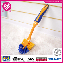 Small Colorful Plastic Pot, Pan, Boiler Washing Brush easy to clean