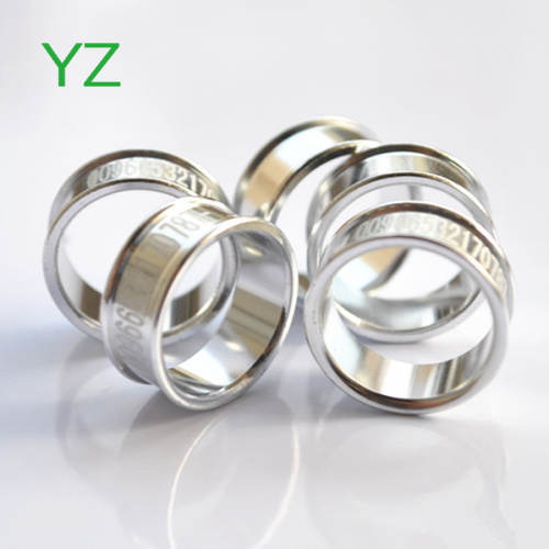 2015 Silver Color 15mm Poultry leg rings bands supply