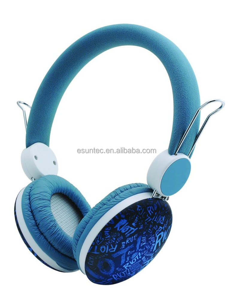 Bluetooth stereo headset with microphone, fancy earphone, ST-705