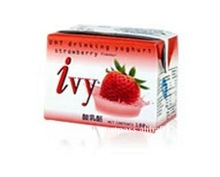 Delicious Ivy UHT Drinking Yoghurt Strawberry 180ml