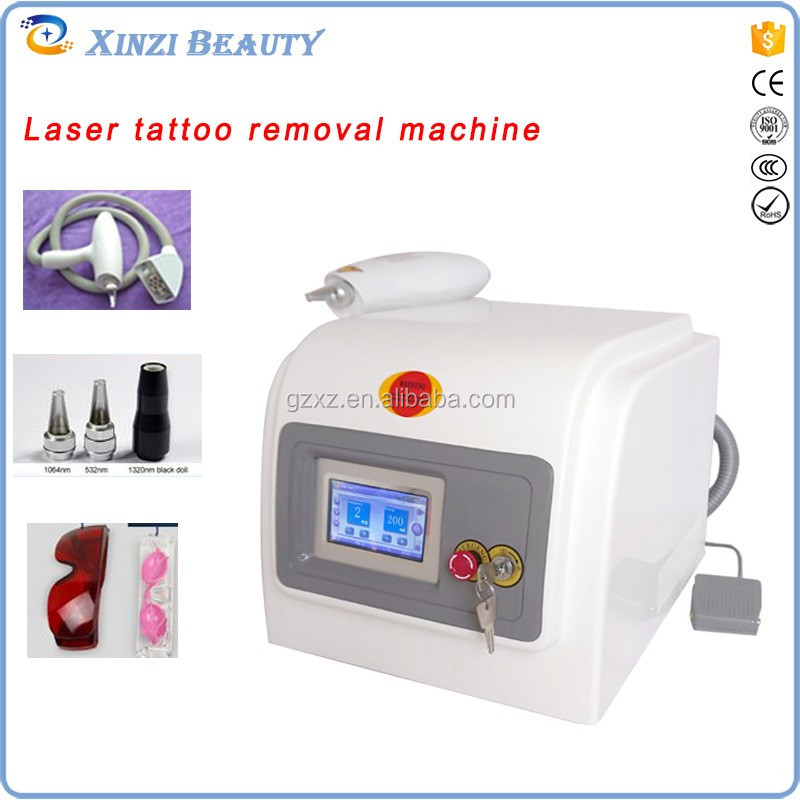 2017 professional infrared ray indicator laser remove tattoo