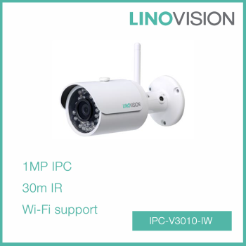 1 MP Full HD Wi-Fi Network 30m IR water-proof P2P Small Bullet 720P IP Camera