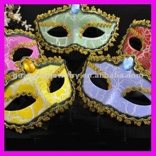 fashion big crystal custom celebrity masks