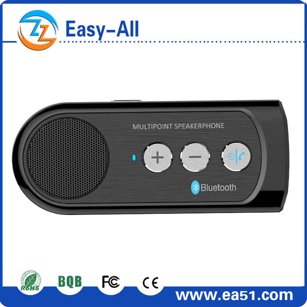 Sun visor bluetooth auto handsfree car kit for answering calles