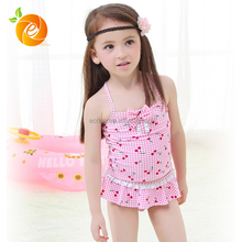 2017 Wonderful Summer Smart Cherry Girls Bikini Toddler Swimwear
