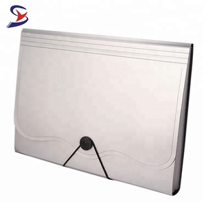 High quality plastic folder a4 size decorative expanding file folder holder with elastic closure