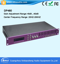 Professional Audio System DP480 Digital Effects Processor DSP For Home / DJ Performance / Club / Studio / Stage / Show / En