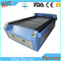 NC - C1325 laser machine with electrical laser head and honeycomb working table commercial use