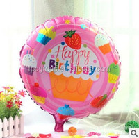 Korean Party Decorations Happy Birthday Foil Balloon