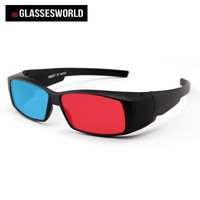 2015 High Quality Passive circular polarized 3d Glasses with Red Blue Cyan