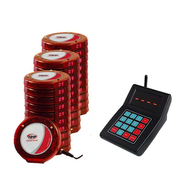 The supplier provides restaurant wireless coaster pager system