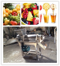 Food and vegetable processing manual fruit juicer with residue separator