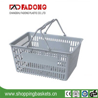 High quality plastic shopping basket