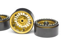 high quality racing toy car aluminum alloy beadlock wheels