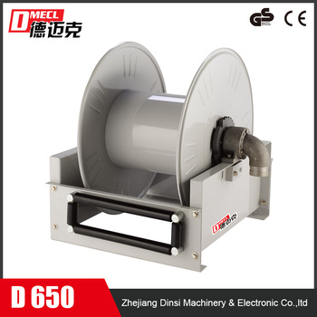 High quality floor-mounted hose reel for industry