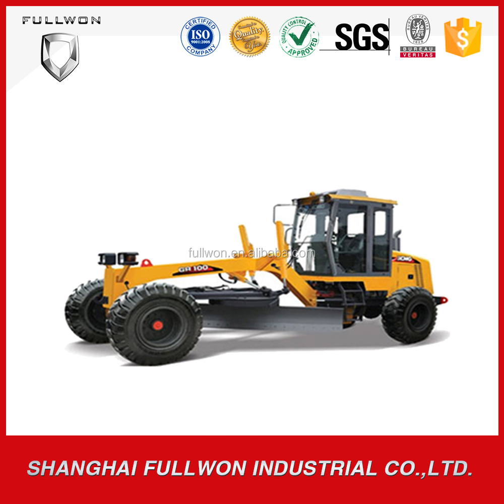 Hot sale XCMG 7ton small mini motor grader for sale GR100