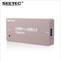 SEETEC metal case golden color mini signal converter HDMI USB capture