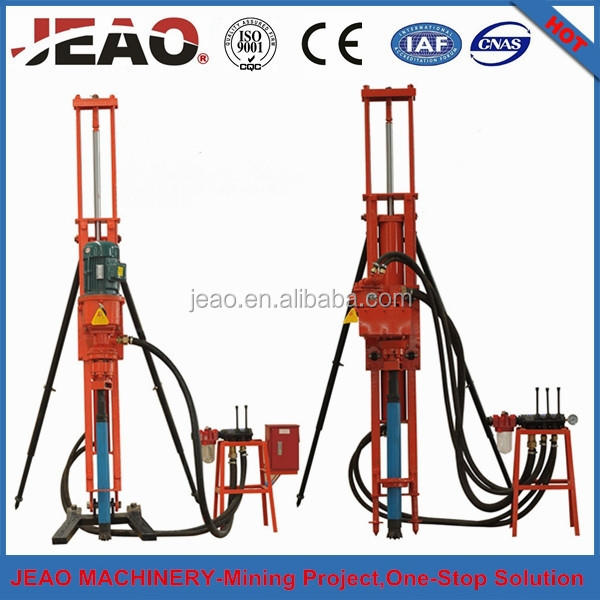 Promotion !!! High Efficent Energy Saving Portable DTH Drilling Rig for Quarry & Mining