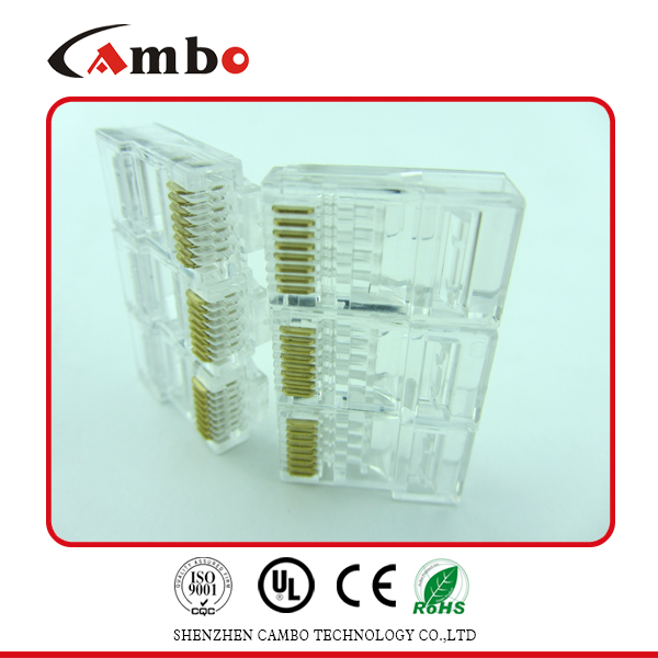 CAT5E/CAT6 Stranded Solid network cable 8P8C unshielded/shielded Gold Plated rs232 to rj45