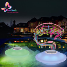 2015 Hot Sale Levitating Bluetooth Wireless Floating Speaker System Magnetic Levitation Speaker With Led Light Remote Control