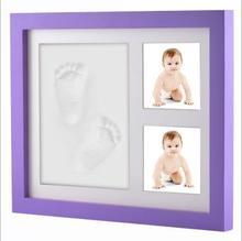 2018 Hot Sale Picture Frame Baby Hand Footprints Frame Baby Commemorative Print Frame For First Year Gifts