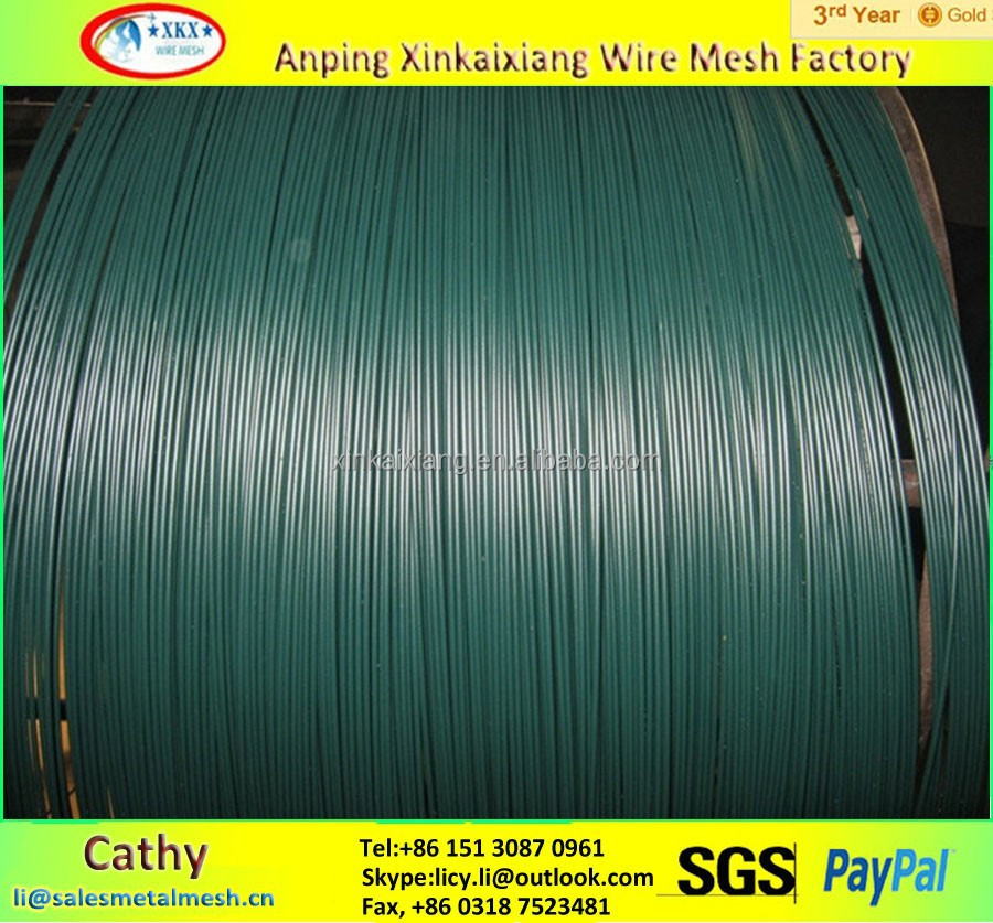 plastic coated iron wire / pvc coated iron wire / black iron wire
