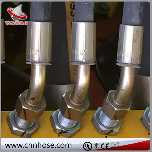 EN Standard Flexible guangbo brass fitting hose fitting
