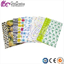 custom printed color tissue paper for decoupage and kids crafts