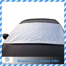 Silver Polyester Magnetic Car Windshield Snow Cover