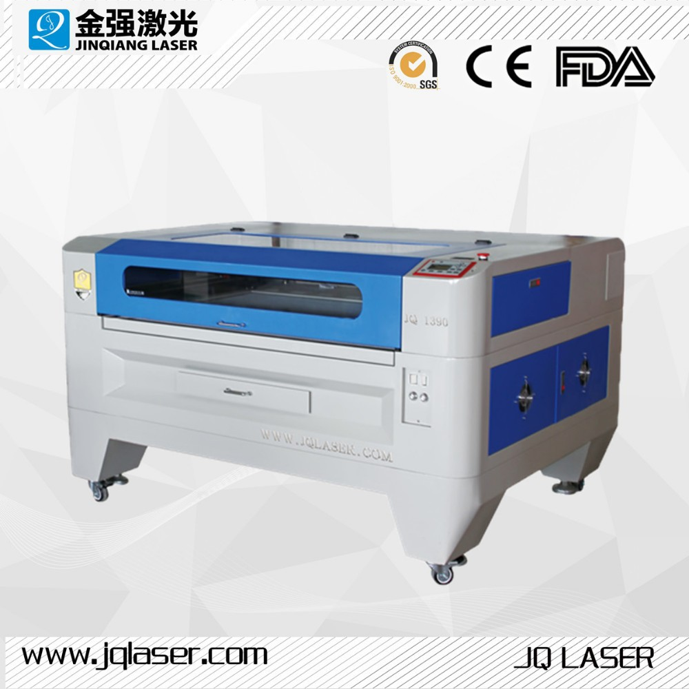 JQ LASER CO2 laser paper die cutting machine