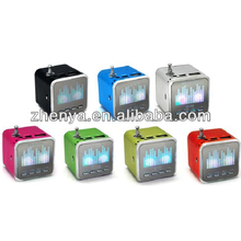 Best Price Mp3 Player Mobile Speaker Mini Sound Box With LED Light