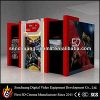Commerial hot sale 5d cinema films for shopping mall