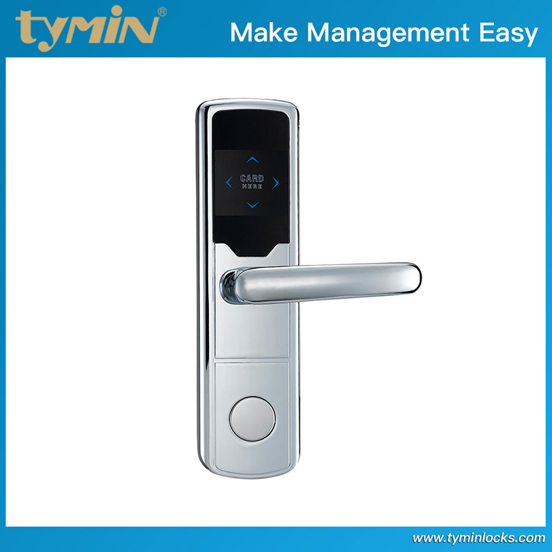 Electronic Guests Check-in System Hotel Room Door Lock