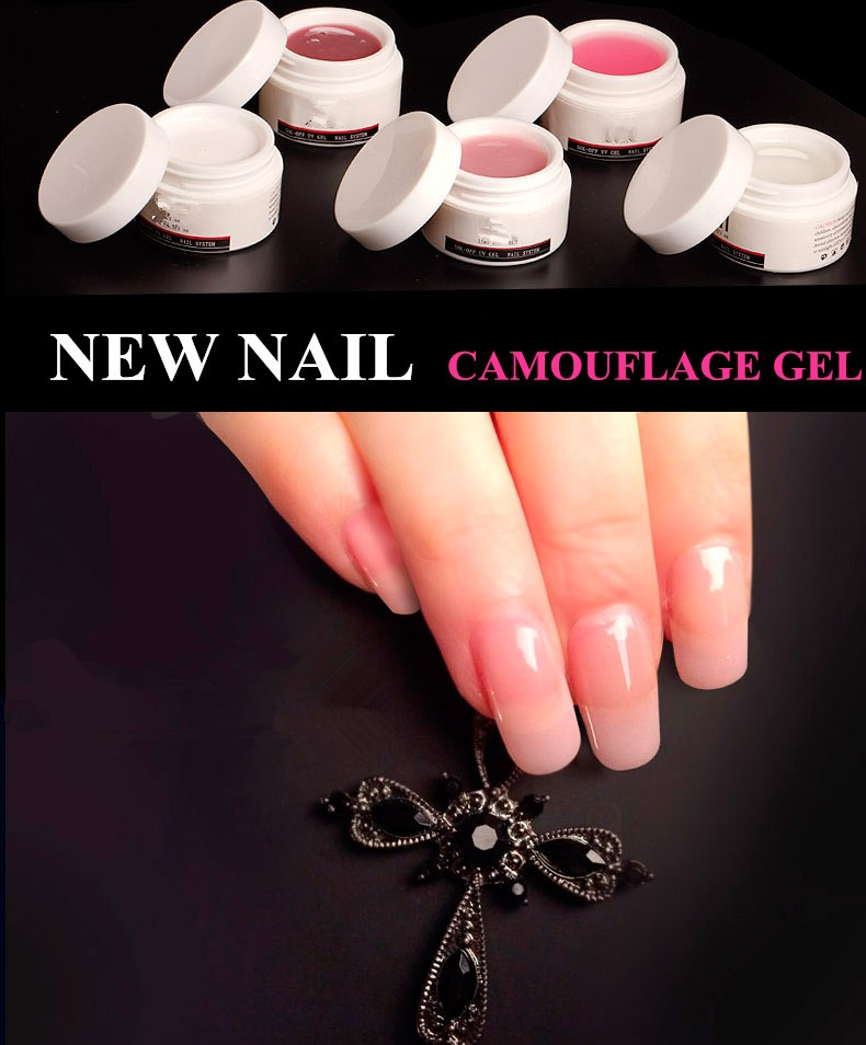 New nail easily soak off 3 colors good quality builder gel nails gel jelly