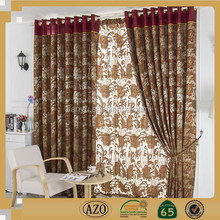 Hot Selling new products washable Europe type style luxurious living room curtain