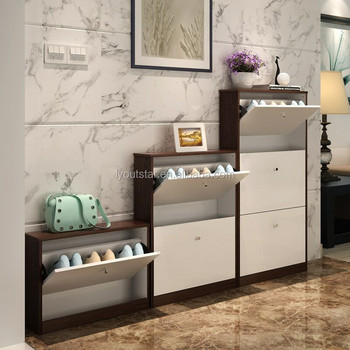 New Design steel shoe cabinet Metal shoes rack for storage shoes