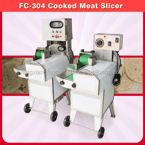 FC-304 Cooked Meat Slicing Machine, Pig Skin Slicing Machine